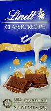 Lindt MILK CHOCOLATE CARAMEL WITH SEA SALT 4.4oz (125g)