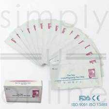 3 X ULTRA EARLY 10mIU HOME PREGNANCY HCG URINE KIT STRIP STRIPS TEST TESTS