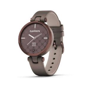 Garmin Lily Classic Smartwatch for Women Dark Bronze Bezel with Paloma Case
