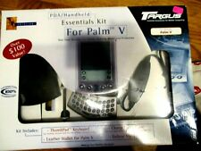 Targas Pda/Handheld Essentials Kit for Palm V Keyboard Wallet Pen Cable New