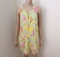 40316cc5bf44 Lilly Pulitzer for Target Challis Romper in Happy Place XL Limited Edition  Rayon