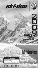 Ski-Doo owners manual book 2009 RF Series  TUNDRA BACKCOUNTRY