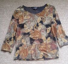 Brittnany Black Blouse For Ladies/ Size Xl/ Nice!