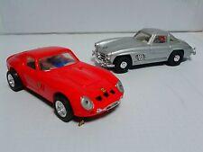Set of CARTRONIC slot cars 1:32 Mercedes 300SL Ferrari 250 GTO