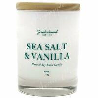 Scentsational Natural Soy Blend 11oz 1 Wick Medium Candle - Sea Salt & Vanilla