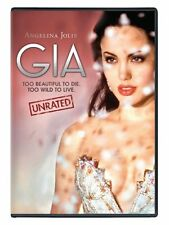 Gia (DVD, 2004, Unrated Version) Angelina Jolie NEW!