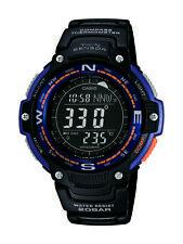 Casio Men's Quartz Compass Thermometer Black Resin 47.5mm Watch SGW100-2B