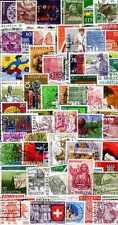 Suisse - Switzerland 500 timbres différents