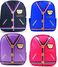 Kidland's Kids School Backpack Bag for Boys and Girls Varsity Design - Violet