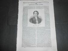 1840 LEOPOLD CARLO GINORI MICHELE SARCONE STORIA NAPOLEONE GUERRA ITALICA RIVOLI