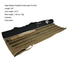 Aventik Fly Fishing Rod Ultra Light High Module Graphite 6'6'' LW2 Rod