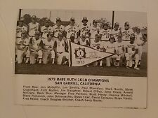 San Gabriel California & Tainan City Taiwan 1973 Baseball Team Picture