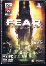 F.E.A.R. First Encounter Assault Recon FEAR - Windows PC CD video game COMPLETE