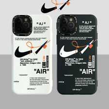 Creative Nike Off-White AJ AIR Cool Soft Cover For iPhone11Pro 7 8Plus XR XsMax