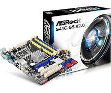 ASRock Lag 775 G41 2drr2 8g mATX Motherboard G41c-gs.