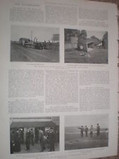 Photo article train railway engine explosion Westerfield Ipswich 1900