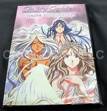OH My Goddess! Volume 2 DVD Evergreen Holy Night & For the Love of Goddess NIB