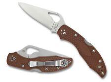 Byrd Meadowlark 2 Lightweight Brown Plain Edge Knife - BY04PBN2
