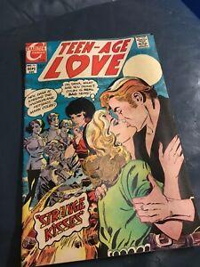 Teen-Age Love #72     Charlton 1970