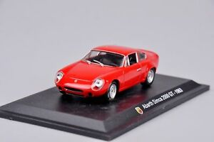 Hachette Abarth Collection Simca 2000 GT 1963 1/43 Scale DIeCast Model Car