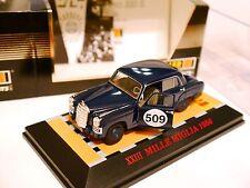 "Mercedes W 180 ""Ponton"" 220 S MM MILLE MIGLIA 1956 #509, Faller in 1:43 boxed!"