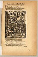 Der Säckler - Holzschnitt von JOST AMMAN 1574