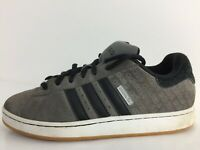 Adidas Campus SK Grey Suede Sports Gym Trainers  G53493 Men Size UK 11 Eur 46