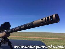 6.5mm Creedmoor High Performance Muzzle Brake 5/8x24   CUSTOMIZE IT!
