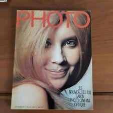 PHOTO MAGAZINE N°26 de 1969-les nouveauté du salon photo cinemas-ac74