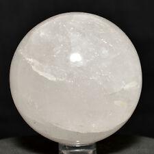 "2.2"" Natural Crystal Quartz Sphere Reiki Polished Mineral Stone Ball - India"