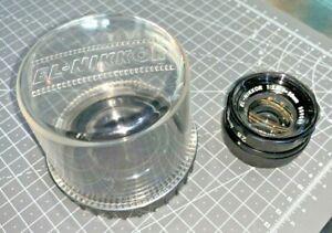 Nikon EL-Nikkor 50mm f2.8 Enlarging Lens, M39 mount, with case