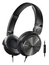 Philips SHL3165BK/00 sobre la oreja Auriculares con Micrófono Negro buen aislamiento de sonido