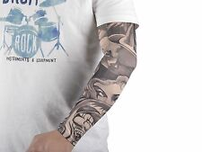 20pcs Fake Temporary Tattoo Sleeves Body Art Arm Stockings