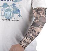 20pcs Fake Temporary Tattoo Sleeves Body Art Arm Stockings