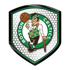 Boston Celtics Reflector Auto Decal [NEW] NBA Car Emblem Shield Sticker CDG