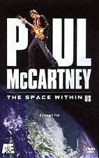 Paul McCartney: The Space Within Us (DVD, 2006)