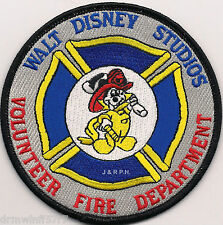 "Disney - Walt Disney Studios Volunteers, CA  (4"" round size)  fire patch"