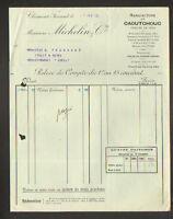 """CLERMONT-FERRAND (63) USINE de PNEUS pour VOITURES  """"MICHELIN & Cie"""" en 1925"""