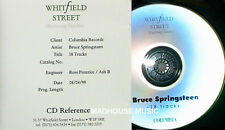 BRUCE SPRINGSTEEN CD Best Of Bruce Springsteen UK PROMO STUDIO ACETATE rare