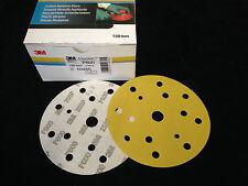 100 X 3M 50455 Hookit 255P Discos de Lijado Adhesivo Ø 150mm Agujero P600