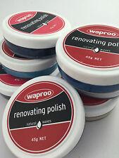 WAPROO RENOVATING  SHOE POLISH 45G  - All Colours Available.