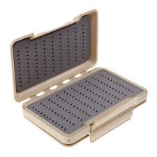 boîtes de pêche à la mouche de pêche de mousse de silicone de fente