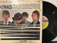 The Kinks – Kinda Kinks LP 1965 Reprise Records – R 6173 VG/VG