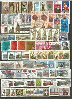 DDR  1984 gestempelt  kompletter Jahrgang  mit allen Einzelmarken gute STEMPEL