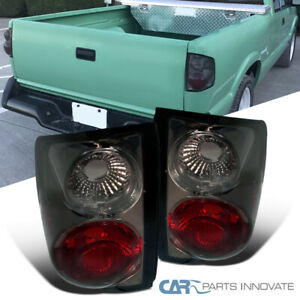 For 94-04 Chevy S10 GMC Sonoma 95-00 Isuzu Hombre Smoke Tail Lights Brake Lamps