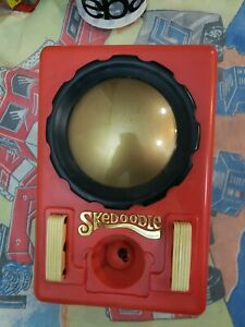 Vintage 1979 Skedoodle Etch-A-Sketch Drawing Toy w/ 12 Templates Hasbro