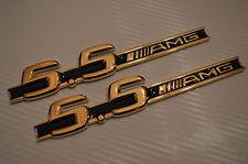 24 Carati Dorato SCRITTA EMBLEM BADGE TARGHETTA 55 AMG oro elegante TUNING