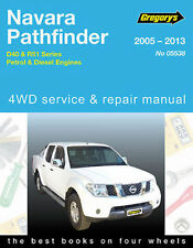 Nissan Navara D40/R51 2WD/4WD Petrol & Diesel Workshop Repair Manual 2005-2013