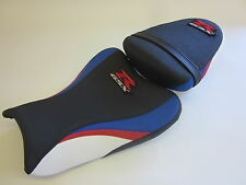 S36 Suzuki GSXR 1000 K7 K8 Front and rear seat cover upgrade-Red Blue SET