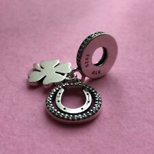 New Genuine Pandora LUCKY DAY Charm INC POP UP BOX Good Luck Clover Exams